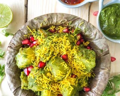 Green Chutney Aloo Chaat Recipe