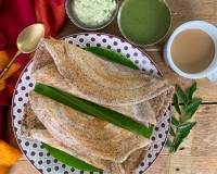 Healthy Homemade Ragi Dosa Recipe