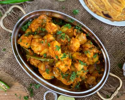 Jaipuri Aloo Pyaz Ki Sabzi Recipe Using Preethi Electric Pressure Cooker