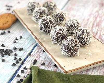 Nutty Oats Almond Truffle Recipe - A Healthy Snack