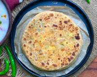 Paneer Carrot Stuffed Paratha Recipe