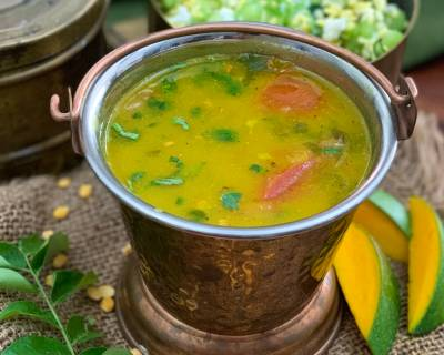 Manga Rasam Recipe - Raw Mango Rasam Recipe