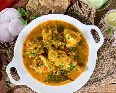 Sindhi Style Chicken Curry Recipe Using Preethi Electric Pressure Cooker