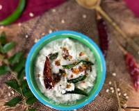 Tamil Nadu Style Coconut Chutney Recipe - For Idli And Dosa