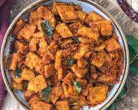 Kalyana Veetu Senai Curry Recipe - South Indian Spicy Roasted Yam