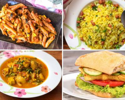Weekly Recipes For Beginners - Aval Upma, One Pot Rajma Masala And Much More