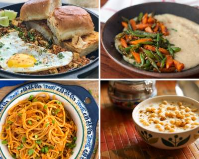 Weekly Recipes For Beginners - Anda Ghotala, Schezwan Noodles And Much More