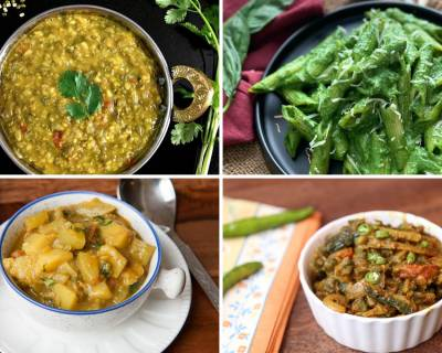 Office Lunch Box Menu Plan-Mung Dal Curry, Lauki Aloo Sabzi, Pasta In Spinach Basil Sauce & More