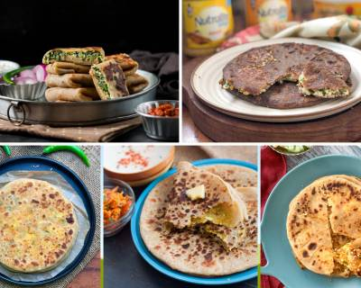 12 Paneer Paratha Recipes Perfect For A Healthy Breakfast