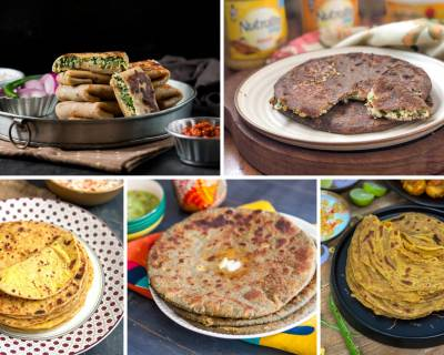 90 Paratha Recipes That Are Healthy, Delicious & Easy To Make