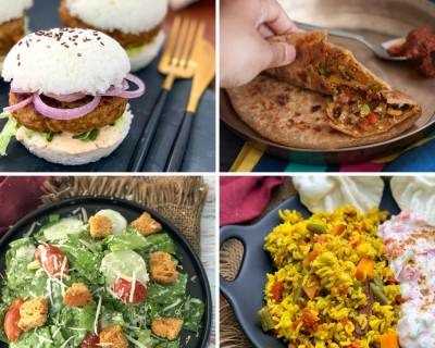 Weekly Meal Plan - Potato Onion Cheela, Bhindi Masala Gravy And Much More