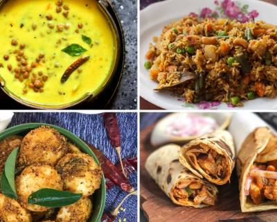 Weekly Meal Plan - Kale Chane Ki Kadhi, Methi Malai Matar And Much More