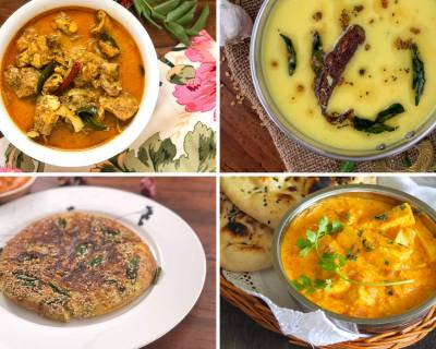 Weekly Meal Plan - Paneer Butter Masala, Rajasthani Kadhi And Much More