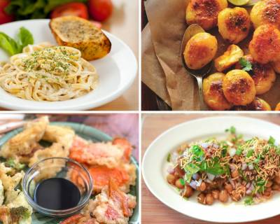 Weekly Meal Plan - Aloo Took, Bhel Puri, Nawabi Paneer Curry And Much More