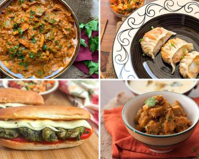 Weekly Meal Plan - Basil Pesto Chicken Sandwich, Hariyali Pav Bhaji And Much More