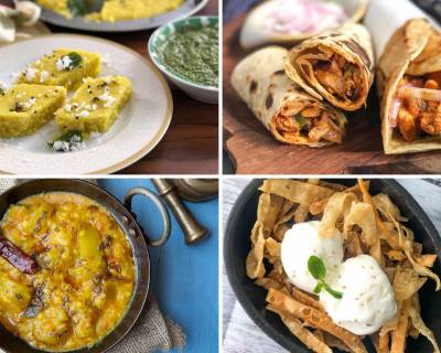Weekly Meal Plan - Chicken Kathi Roll, Lauki Chana Dal And Much More