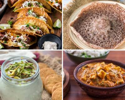 Weekly Meal Plan - Chicken Meatball Tacos, Ragi Appam And Much More