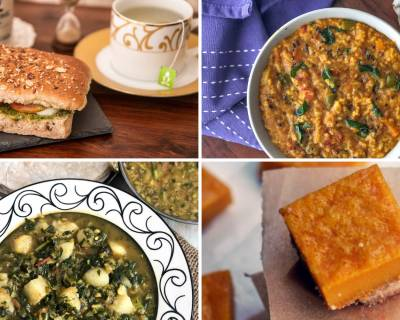 Weekly Meal Plan - Sambar Rice, Rajasthani Kala Chana Kadhi And Much More