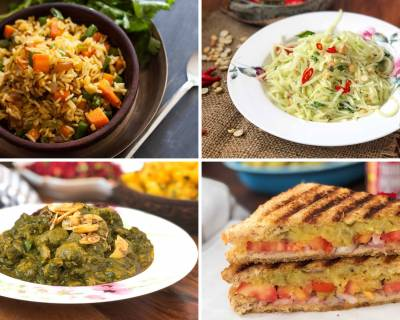 Weekly Meal Plan - Spicy Potato Sandwich, Soya Methi Palak Ki Sabzi And Much More