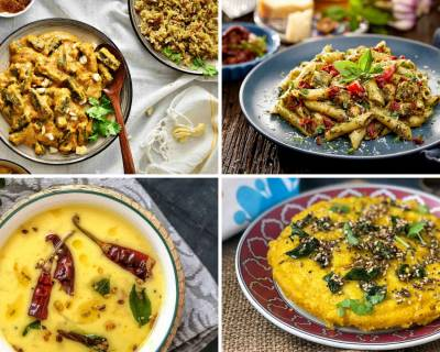 Weekly Meal Plan - Masoor Dal Gassi, Nutty Aloo Paratha And Much More