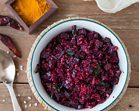 Beetroot Poriyal Recipe - Stir Fried Beetroot