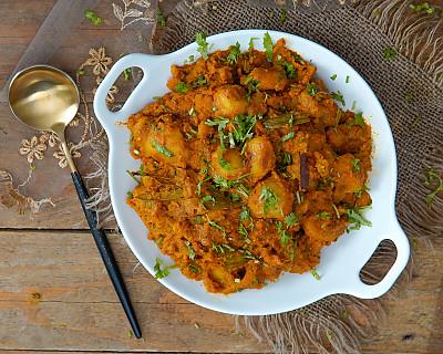 Bengali Aloo Dum Recipe