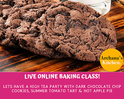Live Online Cooking Class | June 27th 2020 - Baking Class - Cookies, Pies & Tarts