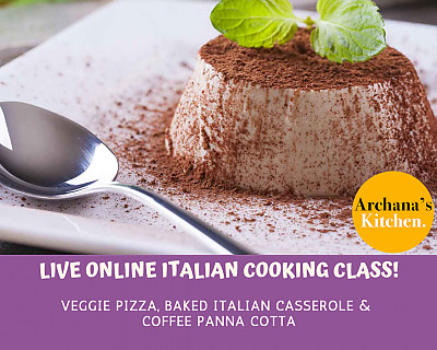 Live Online Cooking Class | June 13th 2020 - Italian Cooking Class - Buon Appetito!