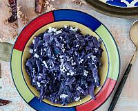 Muttaikose Poriyal Recipe - Purple Cabbage Poriyal