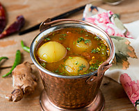 Nellikai Rasam Recipe - Whole Gooseberry Rasam