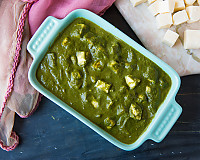 Palak Paneer Recipe | Cottage Cheese In Spinach Gravy