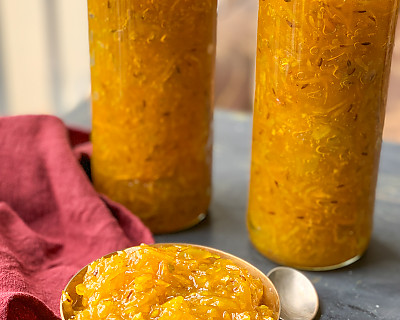 Aam Chunda Pickle Recipe - Gujarati Mango Chunda Recipe
