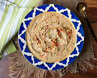 Classic Homemade Hummus Recipe With Lemon And Coriander