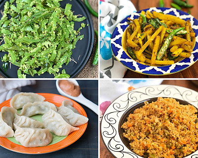 Weekly Meal Plan - Sabudana Khichdi, Nellikai Rasam, Pesto Pasta, and More