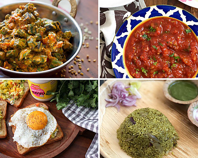 Weekly Meal Plan - Mexican Salsa, Dahi Bhindi, Donne Biryani, and More