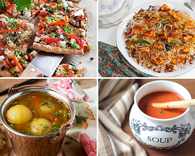 Weekly Meal Plan - Oats Pizza, Barley Upma, Whole Gooseberry Rasam, and More