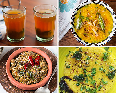 Weekly Meal Plan - Immune Booster Tulsi Kashyama, Quinoa Idli, Masala Waffles, and More Dhaba Style Dal Palak,