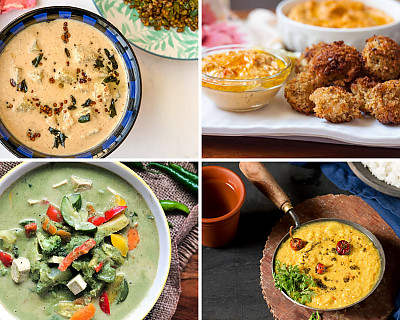 Weekly Meal Plan - Thai Green Curry, KFC Style Chicken, Palak Raita, and More