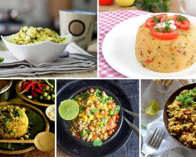 46 Varieties Of Delicious And Appetizing Upma Recipes For Your Busy Morning