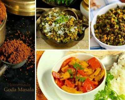 5 Maharashtrian Side Dish Recipes Using Goda Masala