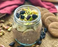 Crunchy Ragi And Oats Breakfast Bowl Recipe