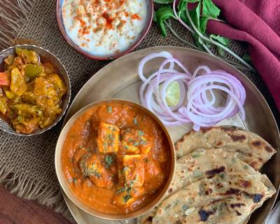 Try The Achari Paneer & Pudina Laccha Paratha For A Weekend Dinner