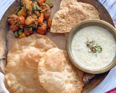 Make This Special Sindhi Meal For Your Family - Puri, Kheerni & Satsaagi