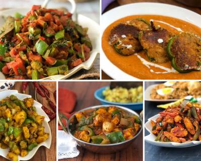 Lip Smacking North Indian Capsicum Recipes That You Must Try