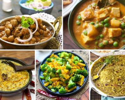 273 High Protein Indian Vegetarian Main Course Recipes For Body Building & Weight Loss