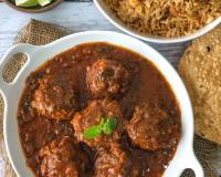 Keeme Ja Bhalla Recipe - Sindhi Mutton Keema Balls In Gravy