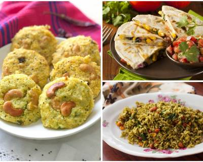 Kids Lunch Box Menu Plan-Healthy Vegetable Paratha Rolls, Broccoli Rava Idli & More