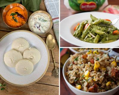Kids Lunch Box Menu Plan- High Protein Soya Idli, Sweet Corn Methi & Tomato Rice & More
