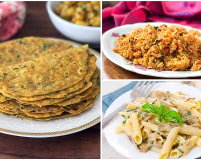 Kids Lunch Box Menu Plan-Karuveppilai Podi Idli, Paneer Bhurji Wraps & More