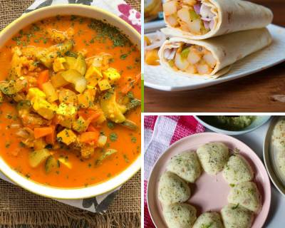 Kids Lunch Box Menu Plan-Sabudana Rava Idli,Beetroot Chilli Paratha & More